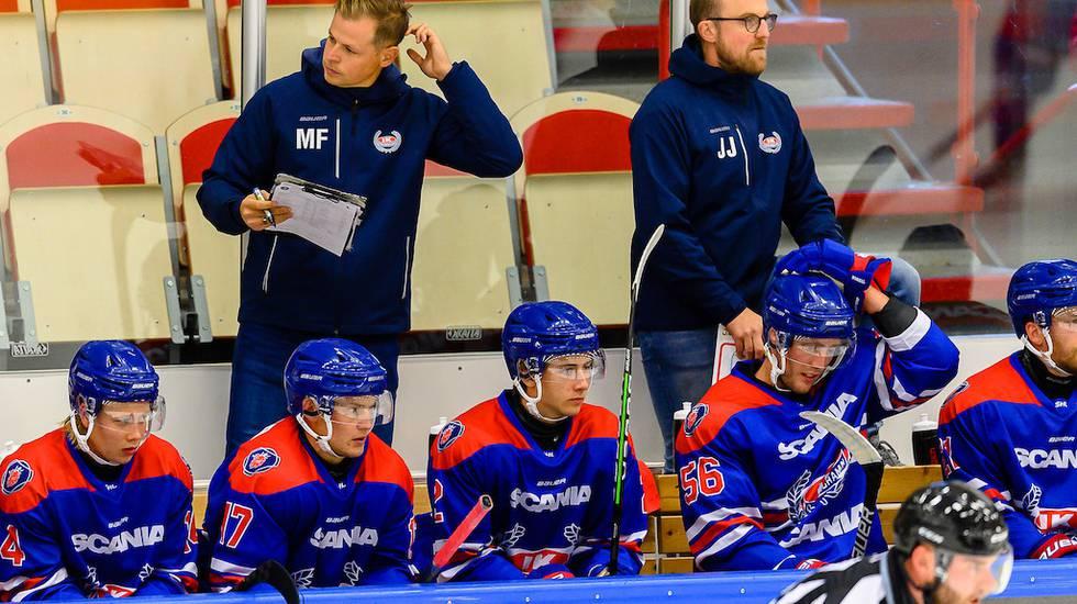 Oskarshamns måndagsträning inställd – isen i SHL-arenan sprack