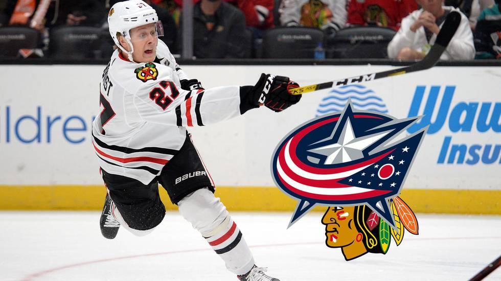 Boqvist lämnar Chicago – trejdad mot backstjärnan