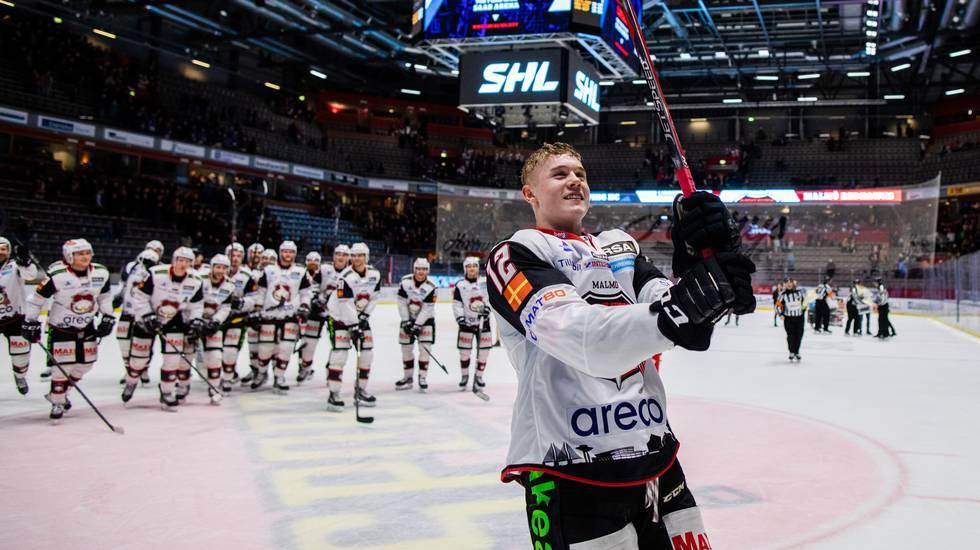 """NHL-klubben nöjd med Malmötalangens utveckling: """"Passade perfekt"""