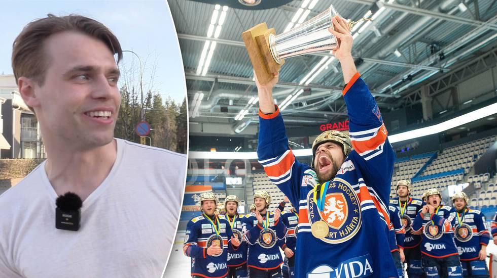 Efter SM-guldet – nu väntar utlandsflytt för Emil Pettersson