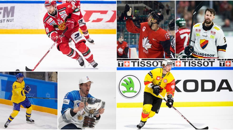 LISTA: 15 intressanta spelare som fortfarande står utan kontrakt