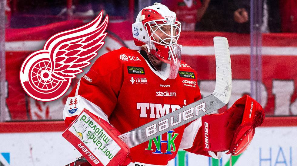 Efter starka säsongen i allsvenskan – målvakten har skrivit NHL-kontrakt