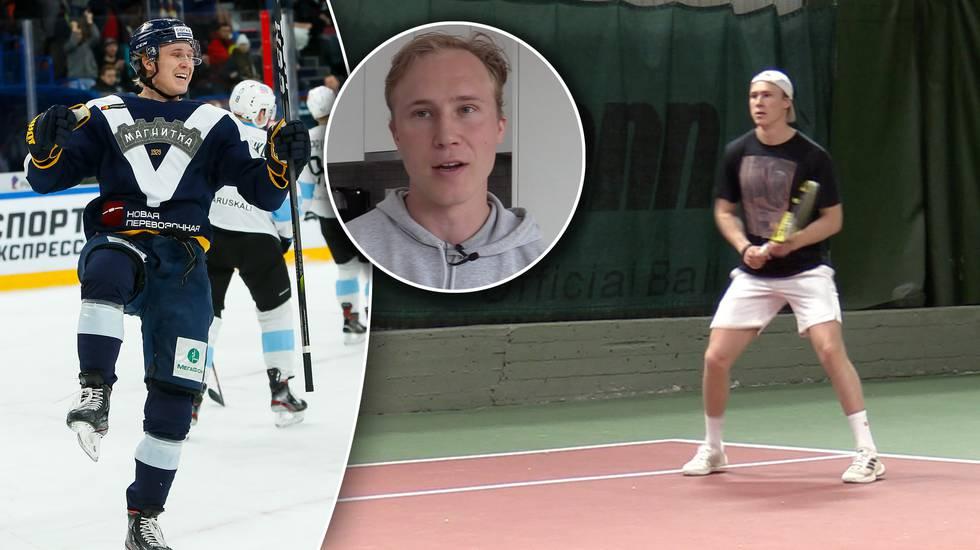 """Efter två säsonger i Ryssland: """"Jag siktar på att mig tillbaka till NHL"""""""