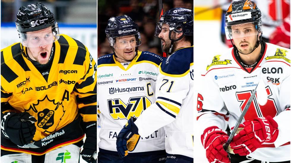 SHL-svepet: HV71 körde över mästarna – och Örebro bröt förlustsviten