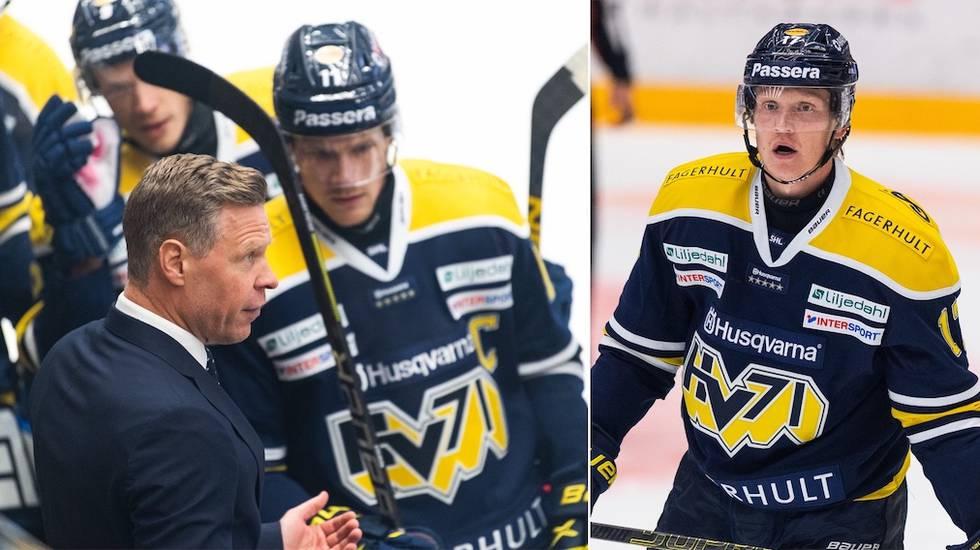 HV71-coachen om tuffa starten och petningen av toppbacken: