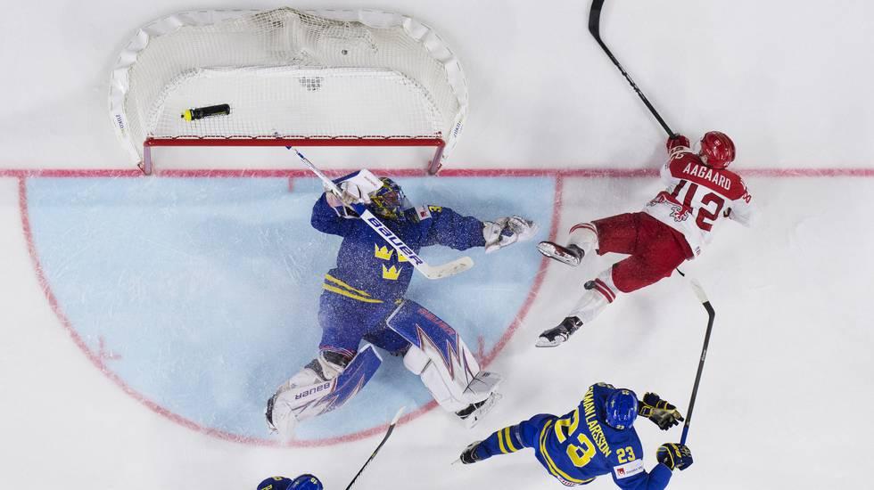 Flera VM-turneringar på meritkontot – nu testar dansken lyckan i Sverige