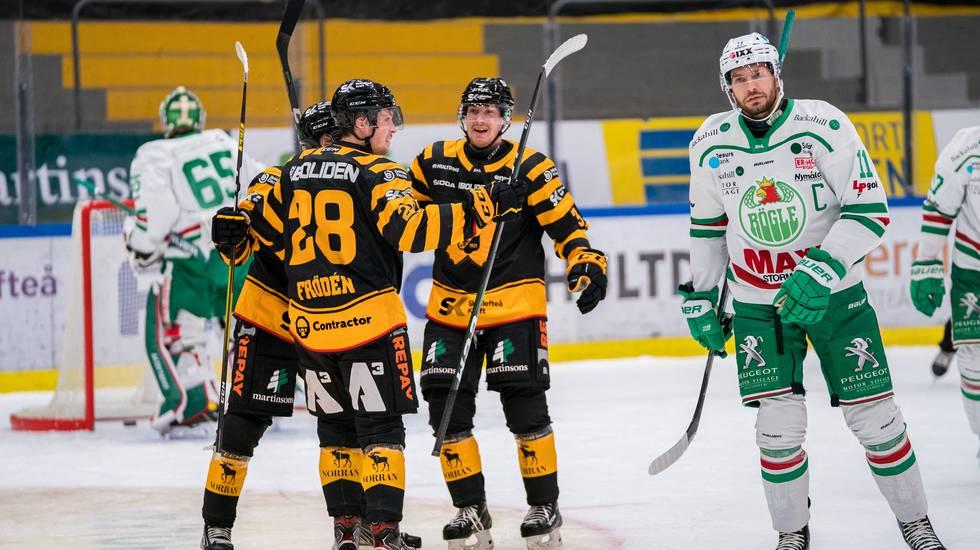 Rögle vann målkalaset mot Skellefteå – efter nytt sent avgörande