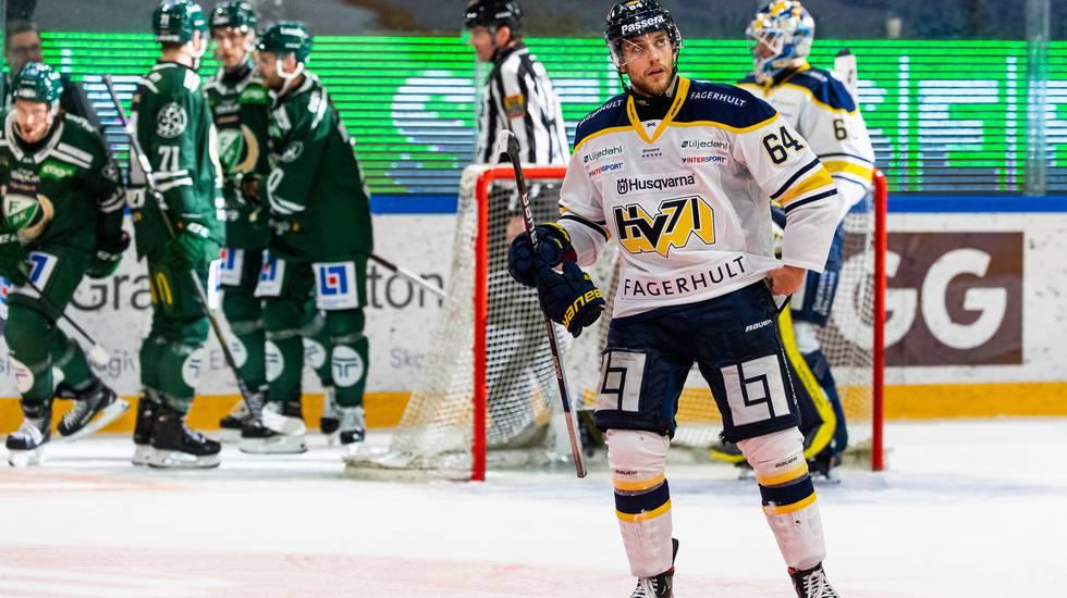 HV71 förlorade i återkomsten – efter stor dramatik i slutet