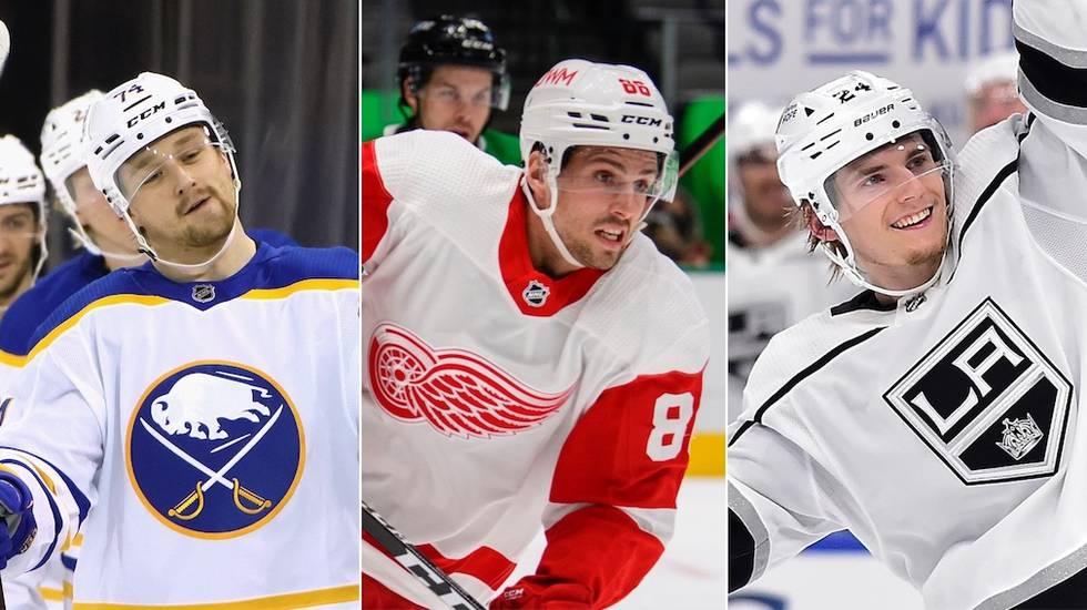 19 NHL-svenskar valdes bort till VM – åtta tunga namn har nobbat
