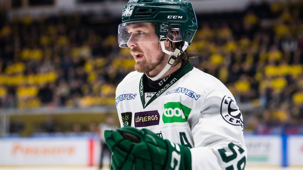 Kallduschen – FBK nära tappa Linus Johansson till NHL: