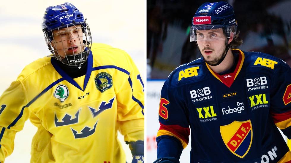 Fem talanger från svenska juniorligorna draftade i CHL:s import draft