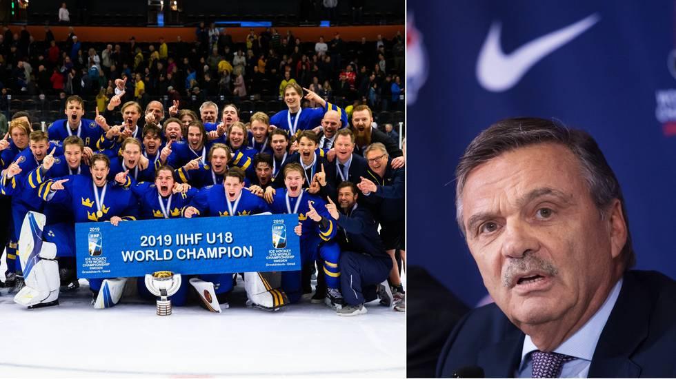 U18-VM riskerar bli inställt – ishockey-VM i Schweiz också i fara
