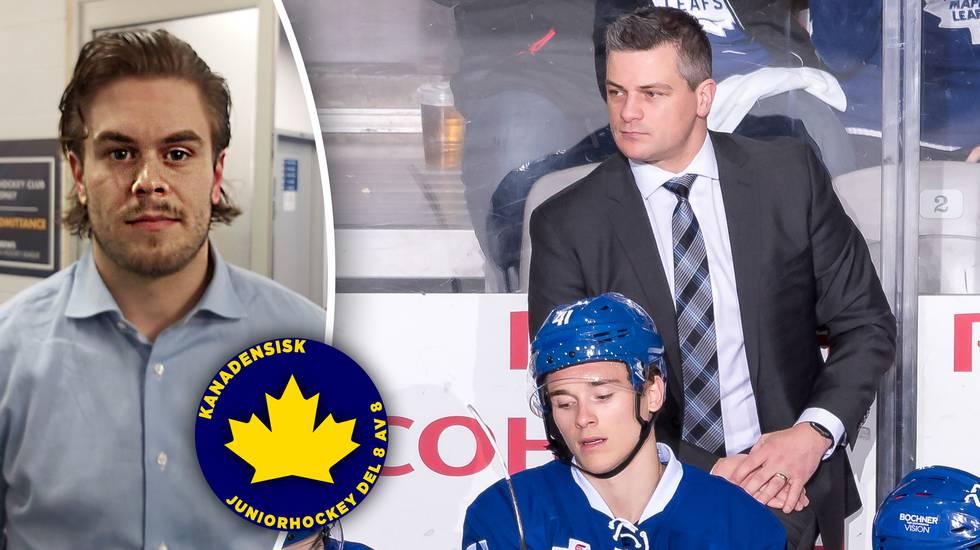 Avskydd som juniorspelare men älskad som tränare – så tog sig Torontos coach ifrån hockeysekten