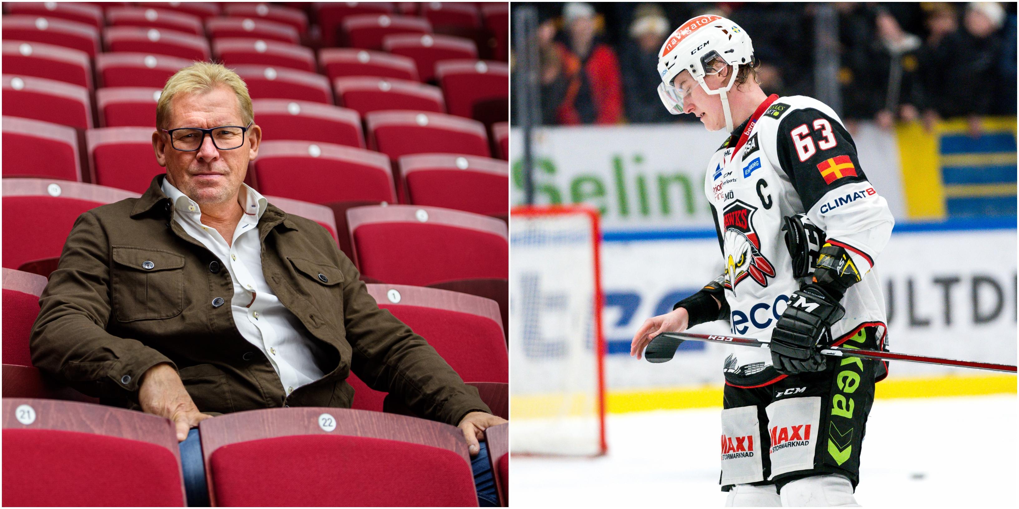 """HockeyNews Patrik Sylvegård: """"Jag tycker att vi tappade"""