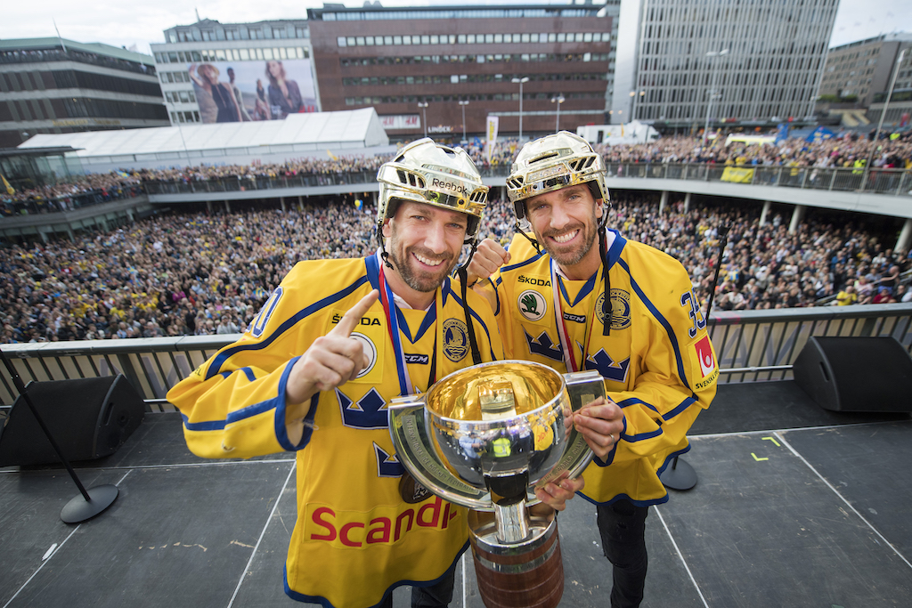 Hockeynews Sa Laddade Joel Lundqvist Infor Sm Finalen I Globen