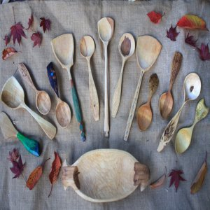 Green Fox Wild Crafts - Spoon Carving