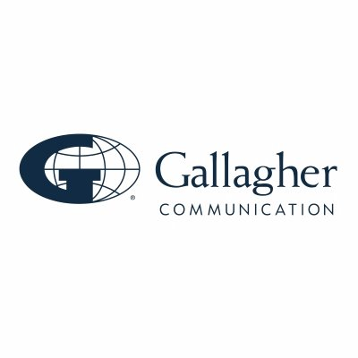 Gallagher Communication logo.