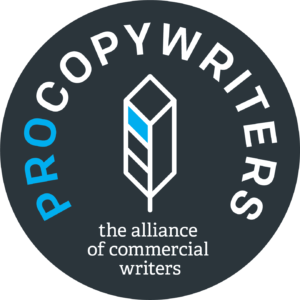 The Alliance of Commercial Writers logo.