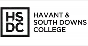 Logo for Havant and Southdowns College.
