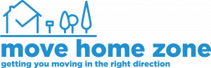 Logo for Move Home Zone.