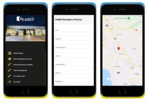 Karen App Mobil Uygulamamız Apple Store ve Google Play Store'da
