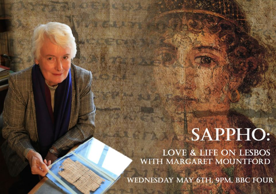 Sappho: Love&Life on Lesbos with Margaret Mountford