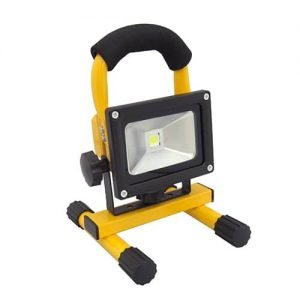 Oplaadbare LED bouwlamp 10Watt