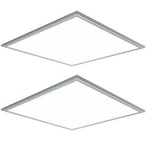 2 stuks: LED paneel 36Watt 600*600mm helder daglicht