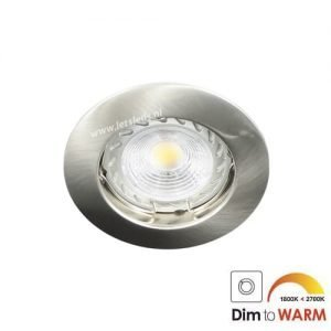LED spot GU10 7Watt rond dimbaar