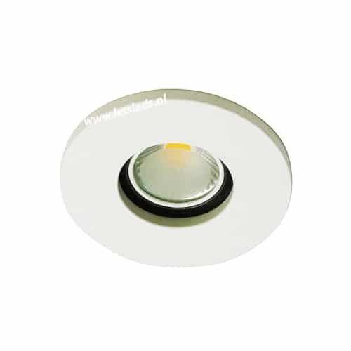 LED spot GU10 COB 5Watt rond WIT IP65 dimbaar
