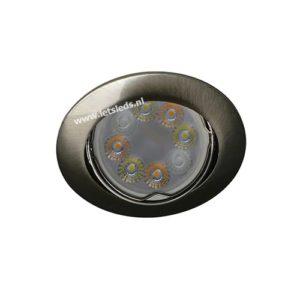 Wifi LED RGBW spot kantelbaar GU10 4Watt rond dimbaar