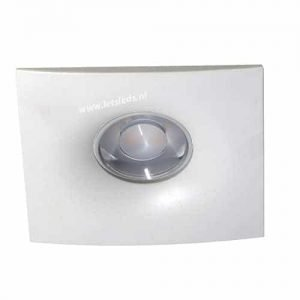 Wifi LED spot GU10 5Watt WIT vierkant dimbaar