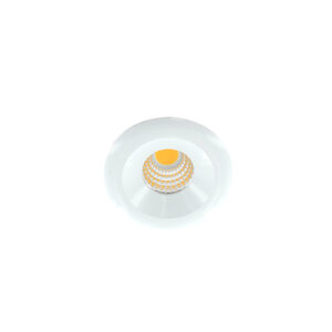 LED mini spot 48mm 3Watt rond WIT dimbaar