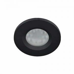 Wifi LED spot zwart RGBW GU10 4Watt rond IP65 dimbaar