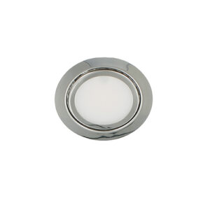 LED meubelspot 3Watt rond CHROME dimbaar