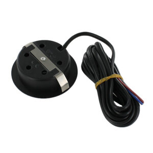 LED meubelspot 3Watt rond ZWART dimbaar