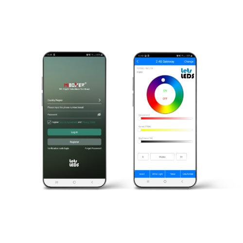 Slimme verlichting App MiBoxer