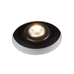 LED trimless spot kantelbaar 5Watt rond ZWART IP65 dimbaar – interne driver 2