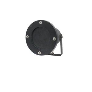 LED tuinspot ZWART 220Volt IP65