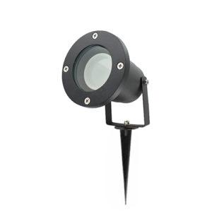 WIFI LED tuinspot 1x55Watt ZWART 220Volt IP65 dimbaar