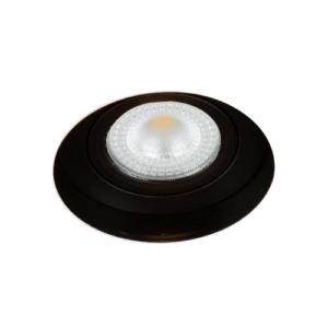 LED trimless spot kantelbaar 5Watt rond ZWART IP65 dimbaar – interne driver 1