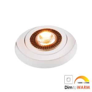 LED trimless spot kantelbaar 7Watt rond WIT IP65 dimbaar – interne driver 2