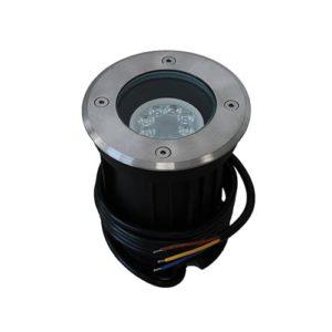 Wifi LED grondspot GU10 4Watt RGBW rond RVS dimbaar IP65