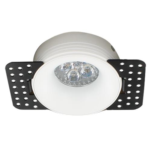 LED trimless spot GU10 4Watt rond WIT dimbaar2