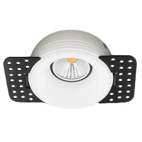 LED trimless spot GU10 COB 3Watt rond WIT dimbaar2