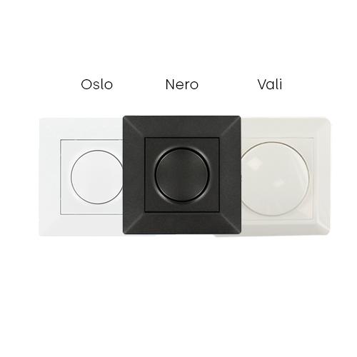 Oslo Nero Vali LED dimmer