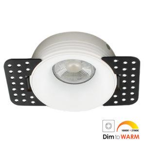 LED trimless spot GU10 COB 7Watt rond WIT dimbaar2