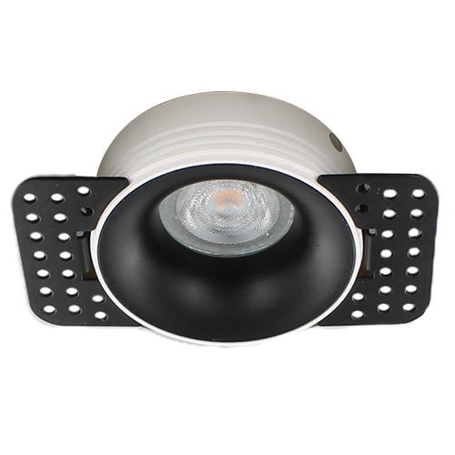 Philips LED trimless spot GU10 3,7Watt rond ZWART dimbaar2