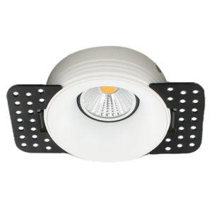 LED trimless spot GU10 COB 5Watt rond WIT dimbaar2