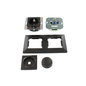 Nero LED dimmer en stopcontact combinatie compleet set